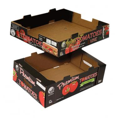 High Quality Corrugated Paper Packaging Box For Tomato