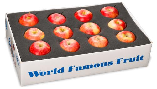 16 pcs apple packing box
