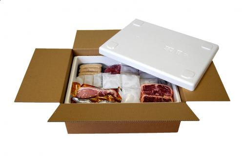 Retaining Freshness Meat Box