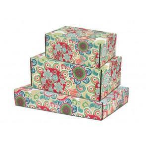 Fancy printed series flower box