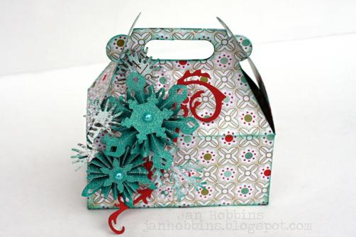 Fancy Christmas gift packing box