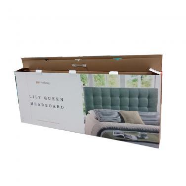 Double Wall Corrugated Cardboard Headboard Shipping Box