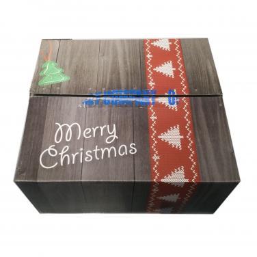 Customized corrugated Christmas gift shipping box