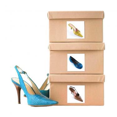 Logo Printing Shoes Box