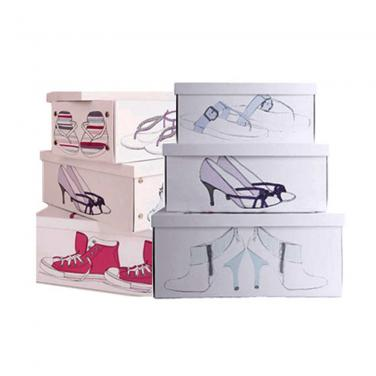 Paper Custom Shoes Box