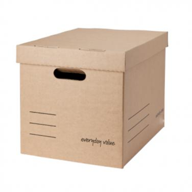 Custom logo printing paper storage box
