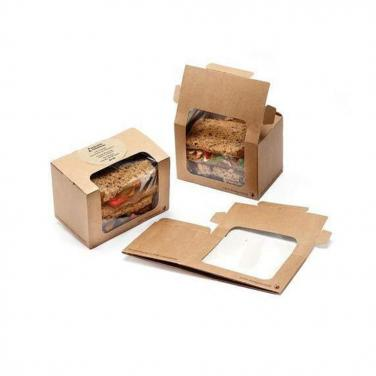 Kraft Paper Sandwich Box