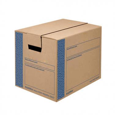 Portable kraft paper storage box