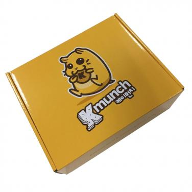 Glossy corrugated notebook box cheap price