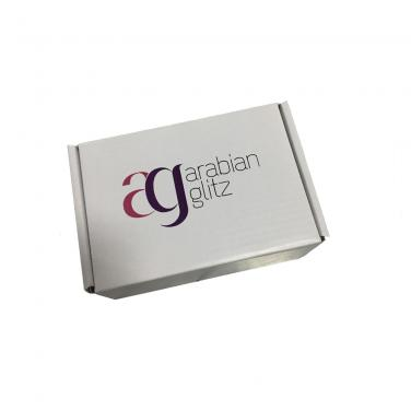 E Flute Die Cut Packing Gift Box With Custom Logo