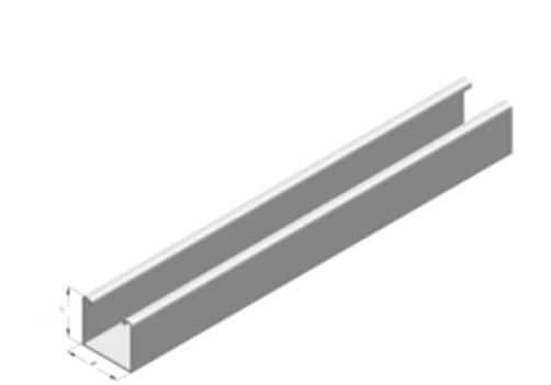 Plain channel
