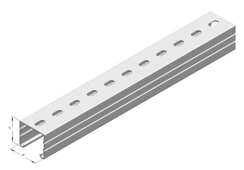 Slotted Strut Channel