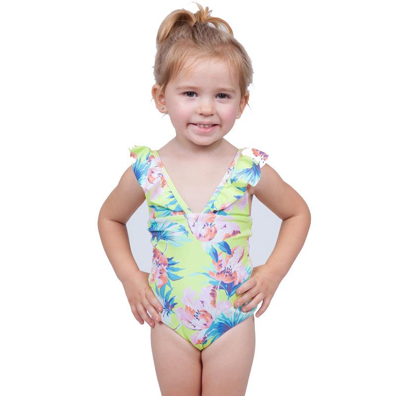 High Quality Popular Girls Children Swimwear Swimwear Sexy Kids Bikini