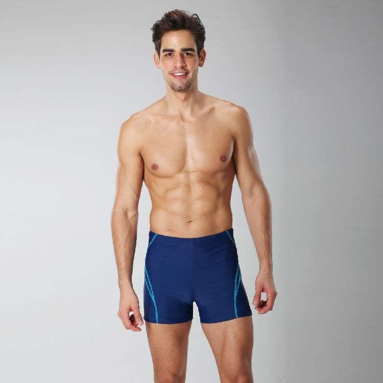 Men Swimwear trunks Professional athletic swimming shorts OEM