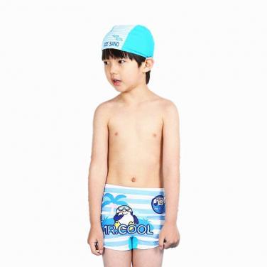 Boys' swimming shorts OEM digital printing kids swimwear
