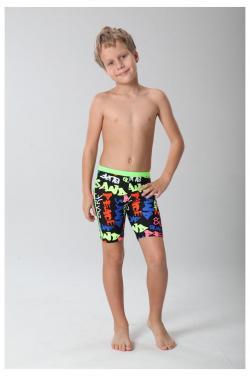 Boys' swimsuit digital printing multi-color swimming