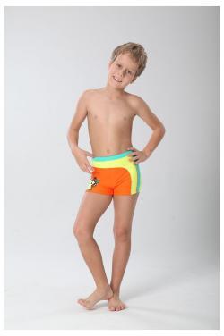 Boys' swimming trunk multi-color