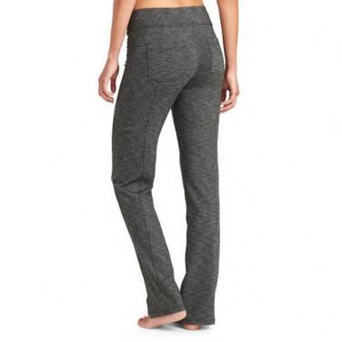 Ladies yoga pants straight leg comfortable activewear