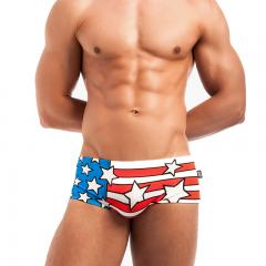 Mens Competition Swimwear Swim Jammer Swim Trunks