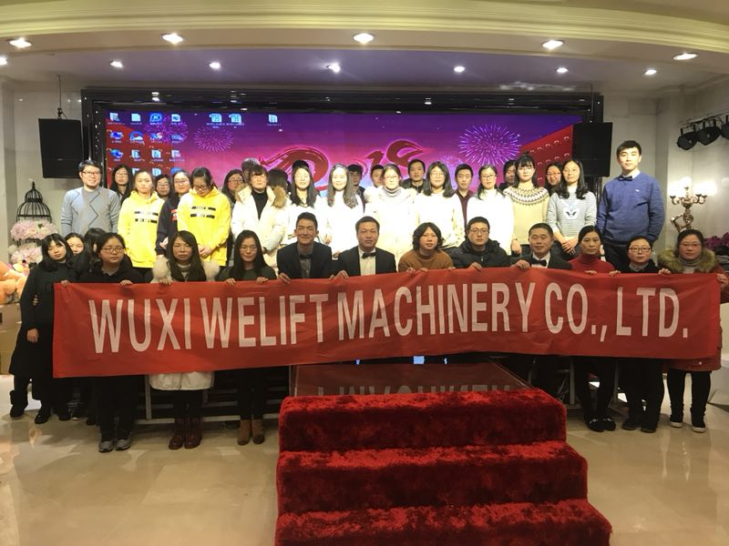 Thanks for the hard working of all  WELIFT members, WELIFT celebrate 2017 annual party