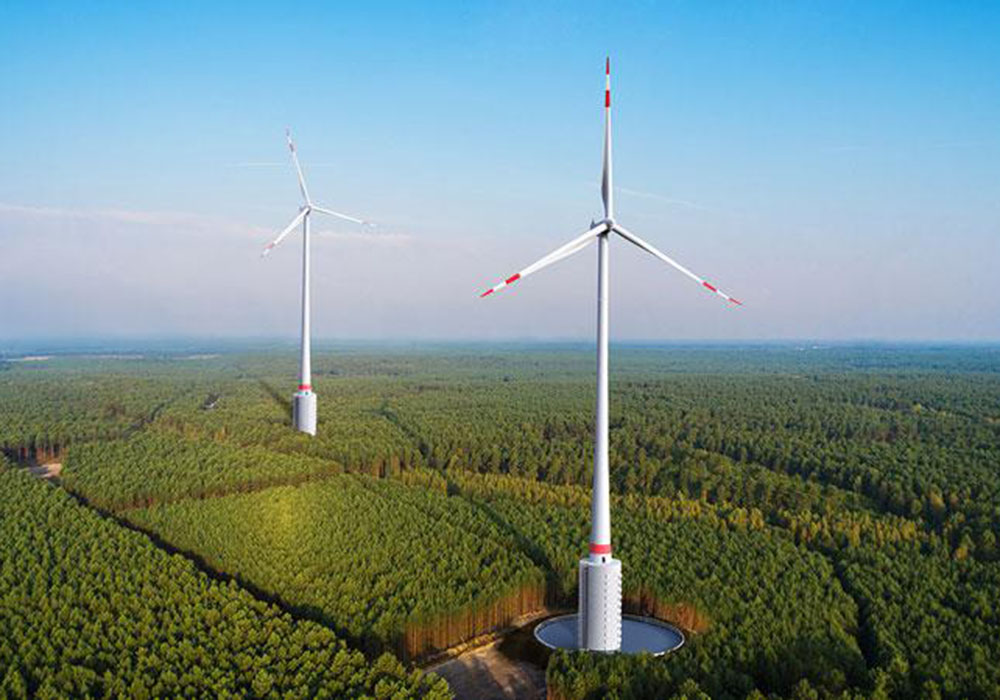 'World's Tallest' Wind Turbine Gets 70MWh of Pumped Storage Near Stuttgart