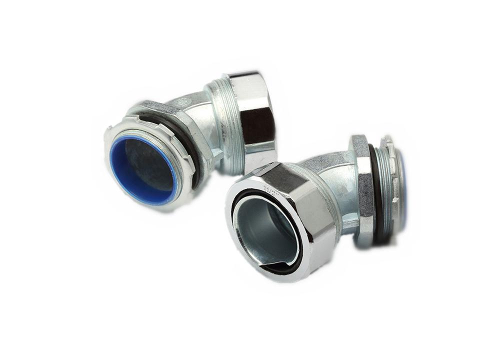 45 ° Bend Flexible Metallic Conduit Joint