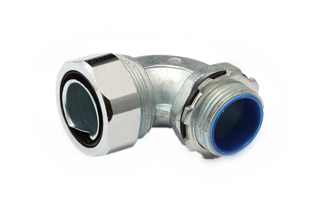 90 ° Bend Flexible Metallic Conduit Joint