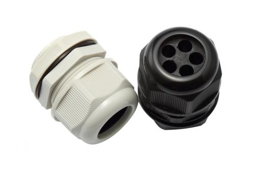 Multi-Holes Nylon Cable Gland 5 Holes