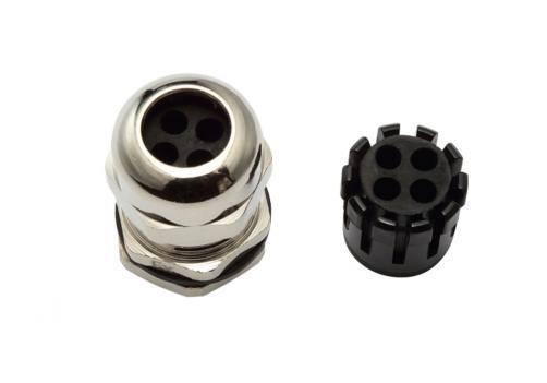 Multi-Hole Cable Gland (4 Holes)