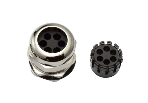 Multi-Hole Cable Gland (6 Holes)