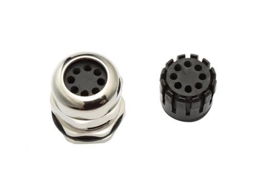 Multi-Hole Cable Gland (8 Holes)