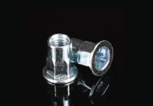 Flat Head Square Body Blind Rivet Nuts
