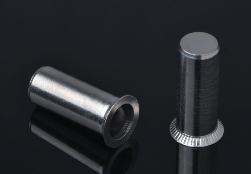Countersunk Head Round Body Plain Close End Blind Rivet Nuts /Stainless Steel