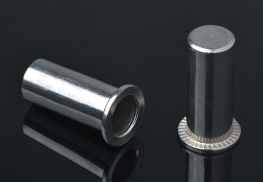Flat Head Round Body Close End Blind Rivet Nuts