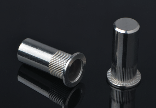 Flat Head Knurled Body Close End Blind Rivet Nuts /Stainless Steel