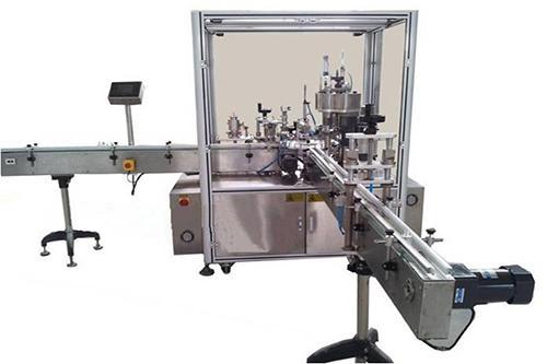 电子烟油、电子烟液、指甲油灌装旋盖机