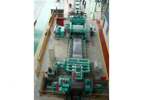CR GI SS 0.3-3X800-2000mm Cut To Length Line