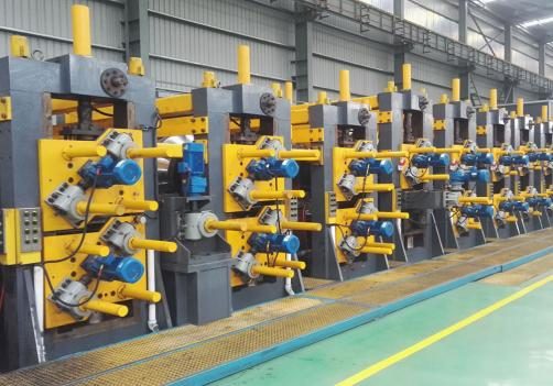 TDG120-200 Directly Forming To Square ERW Tube Mill