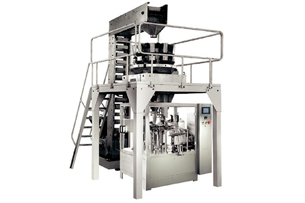 Automatic granule products weighing bag packaging equipment