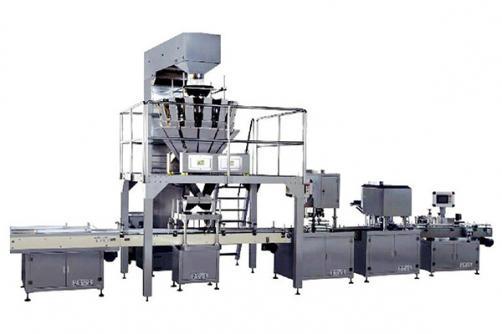 Automatic Particle bottling production line