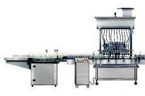 Automatic liquid bottle production line