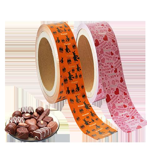 Chocolate Wraper Alu foil
