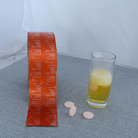 Alu foil for Effervescent Tablets
