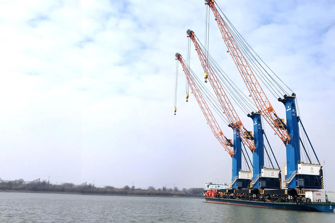 杰马GHC系列高架吊/移动式港口起重机简介