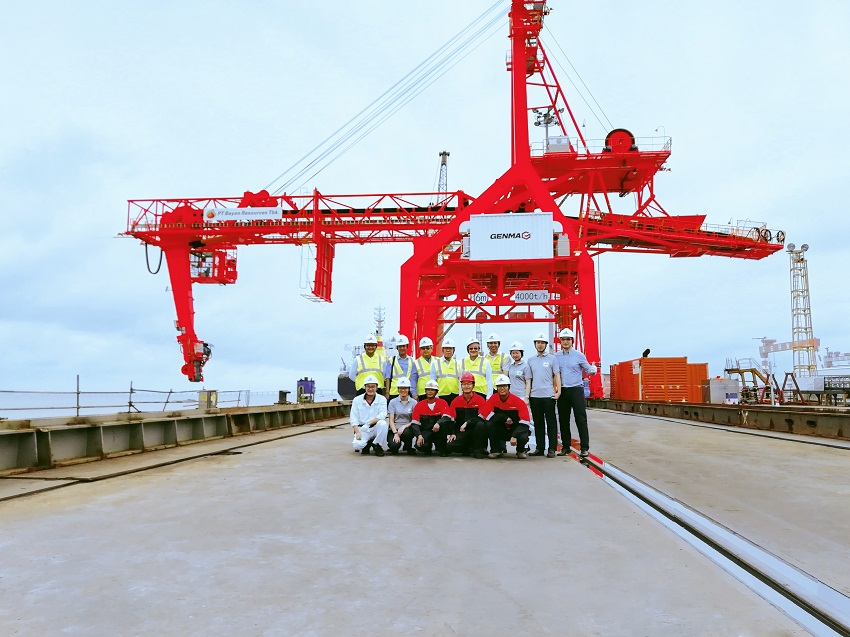 Genma Ship Loader Delivered to BCT
