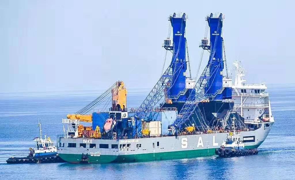 GENMA mobile harbor cranes were unveiled at Port of Acajutla