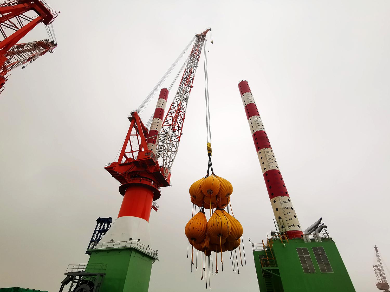 GENMA 600t RHL型海洋起重机成功完成CCS产品试验