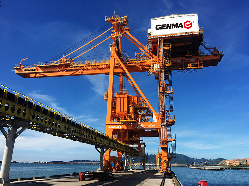 RHM won the bid of 2 1500t/h grab ship unloaders from Zhongtian Iron & Steel Co