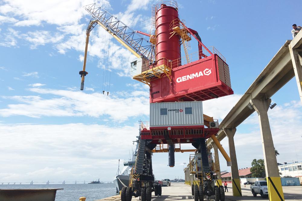 润邦重机中标中粮粮油(九江)2台气力式卸船机订单