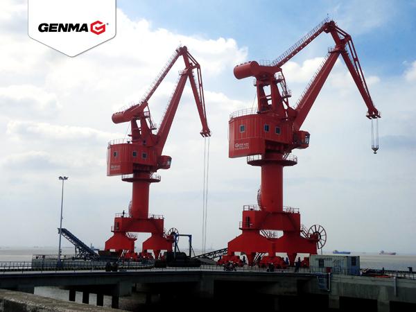 润邦重机中标南通浩洋港口有限公司2台门座式起重机订单